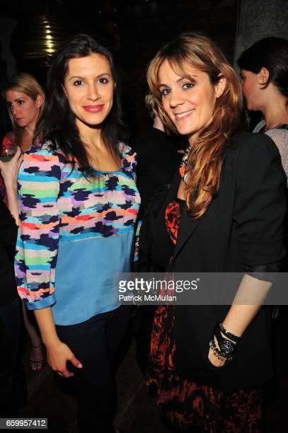 Tatiana Boncompagni and Mariana Kulukundis attend RODIAL SKINCARE Celebration at La Esquina NYC on May 18 2009