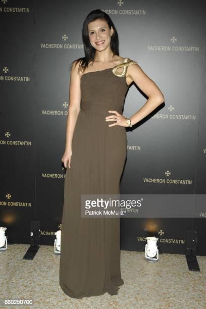 Tatiana Boncompagni attends VACHERON CONSTANTIN Unveils 'LES MASQUES' at the Metropolitan Museum of Art on June 2 2009 in New York City