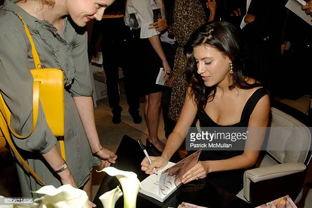 Tatiana Boncompagni attends VOGUE and ELIE TAHARI host cocktails to celebrate TATIANA BONCOMPAGNI's new book GILDING LILY at Elie Tahari on September...