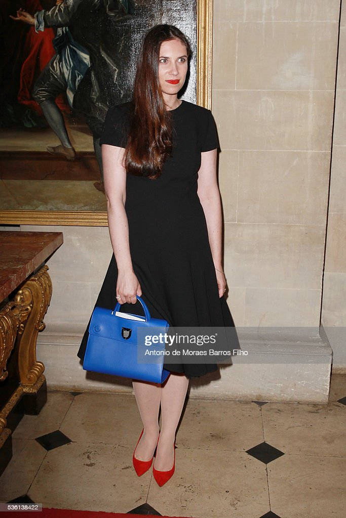 Tatiana Casiraghi attends Christian Dior showcases its spring summer 2017 cruise collection at Blenheim Palace on May 31, 2016 in Woodstock, England.