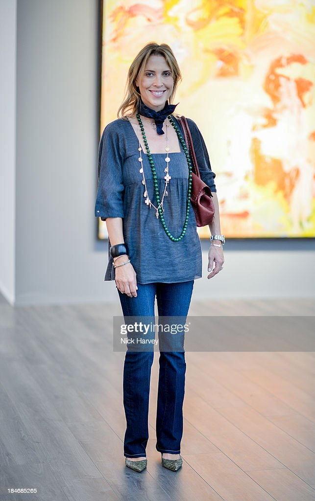 Tatiana d'Abo attends the private view for Frieze Masters on October 15, 2013 in London, England.
