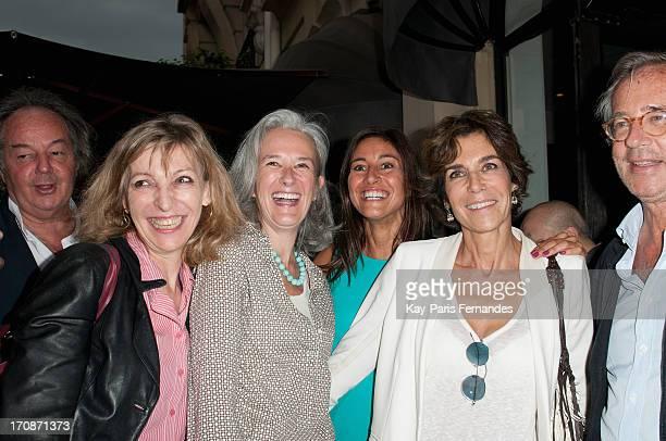 Tatiana de Rosnay Myriam Kournaf Christine Orban attend the 'Prix du Premier Roman de Femme 8eme Edition' during the 'Montalembert Literary Awards...