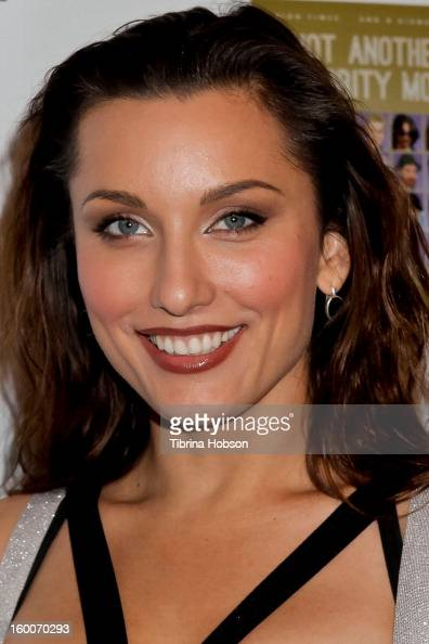 Tatiana DeKhtyar attends the 'Not Another Celebrity Movie' Los Angeles premiere at Pacific Design Center on January 17 2013 in West Hollywood...