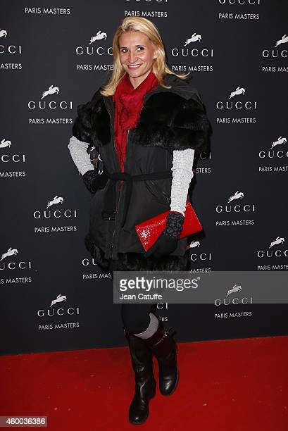 Tatiana Golovin attends day 2 of the Gucci Paris Masters 2014 at Parc des Expositions on December 5 2014 in Villepinte France