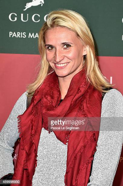 Tatiana Golovin attends Day 2 of the Gucci Paris Masters 2014 on December 5 2014 in Villepinte France