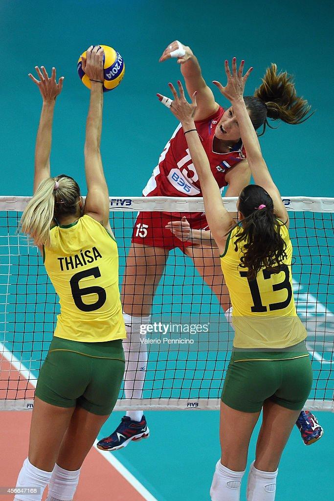 Brazil v Russia - FIVB Women's World Championship