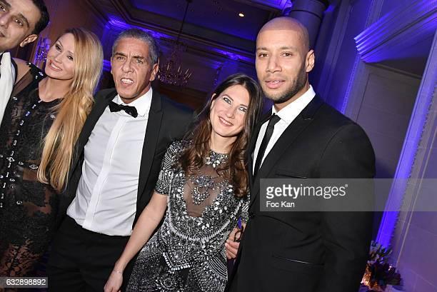 Tatiana Laurens Sami Naceri Marie de Fleurieu and Xavier Delarue attend 'The Best Award Gala 40th Edition' at Four Seasons George V Hotel on January...