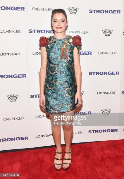 Tatiana Maslany attends the 'Stronger' New York Premiere at Walter Reade Theater on September 14 2017 in New York City