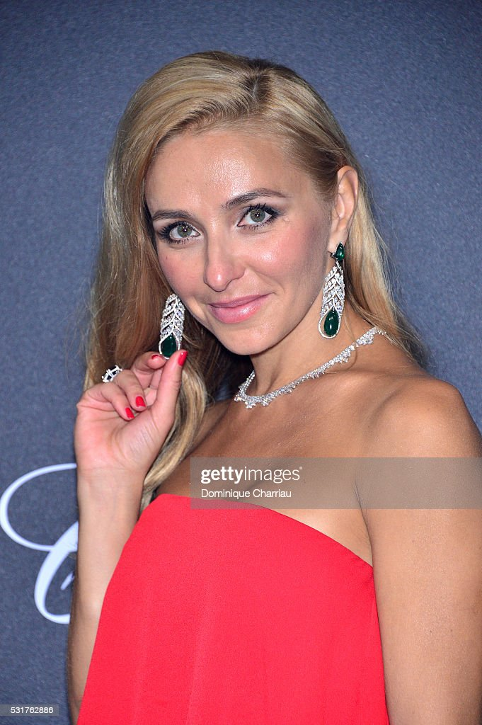 <a gi-track='captionPersonalityLinkClicked' href=/galleries/search?phrase=Tatiana+Navka&family=editorial&specificpeople=215488 ng-click='$event.stopPropagation()'>Tatiana Navka</a> attends the Chopard Party at Port Canto during the 69th annual Cannes Film Festival on May 16, 2016 in Cannes, France