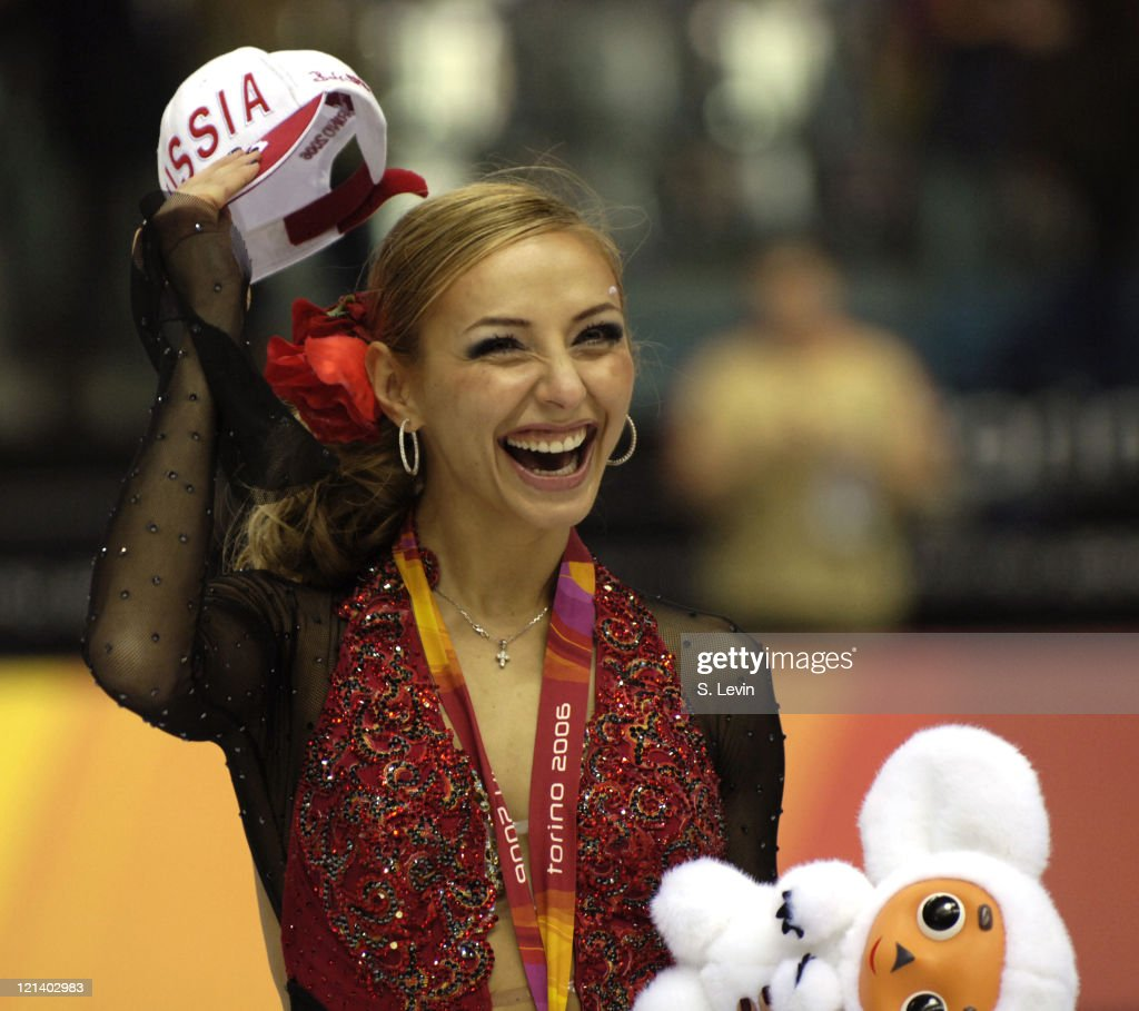 <a gi-track='captionPersonalityLinkClicked' href=/galleries/search?phrase=Tatiana+Navka&family=editorial&specificpeople=215488 ng-click='$event.stopPropagation()'>Tatiana Navka</a> of Russia during the Ice Dancing Free Skate Program at the 2006 Olympic Games at the Palavela in Torino, Italy on February 20, 2006.