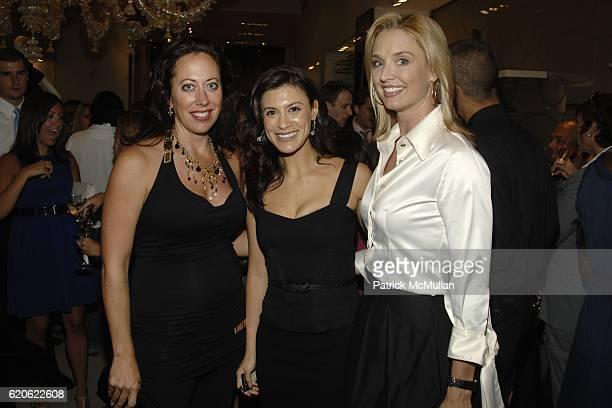 Tatiana Platt Tatiana Boncompagni and Laurie Dhue attend VOGUE and ELIE TAHARI host cocktails to celebrate TATIANA BONCOMPAGNI's new book GILDING...