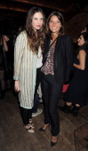 Tatiana Santo Domingo and Debonnaire Von Bismarck attend a party celebrating the launch of the Muzungu Sisters popup shop in the Mo Cafe at Momo...