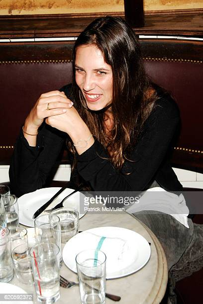 Tatiana Santo Domingo attends Private Dinner hosted by CARLOS JEREISSATI CEO of IGUATEMI at Pastis on September 6 2008 in New York City