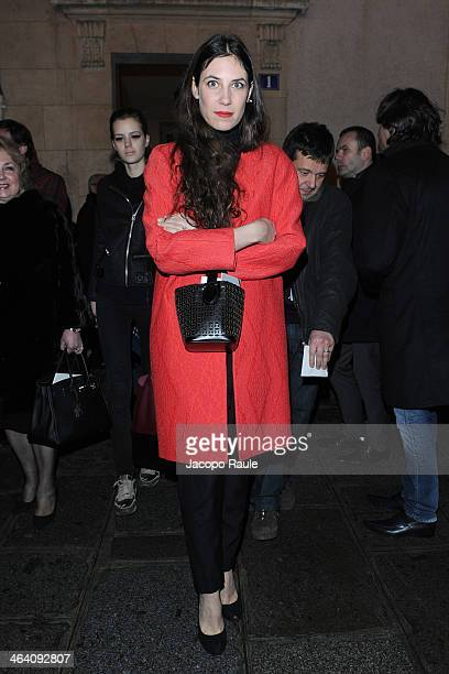 Tatiana Santo Domingo attends the Giambattista Valli show as part of Paris Fashion Week Haute Couture Spring/Summer 2014 on January 20 2014 in Paris...