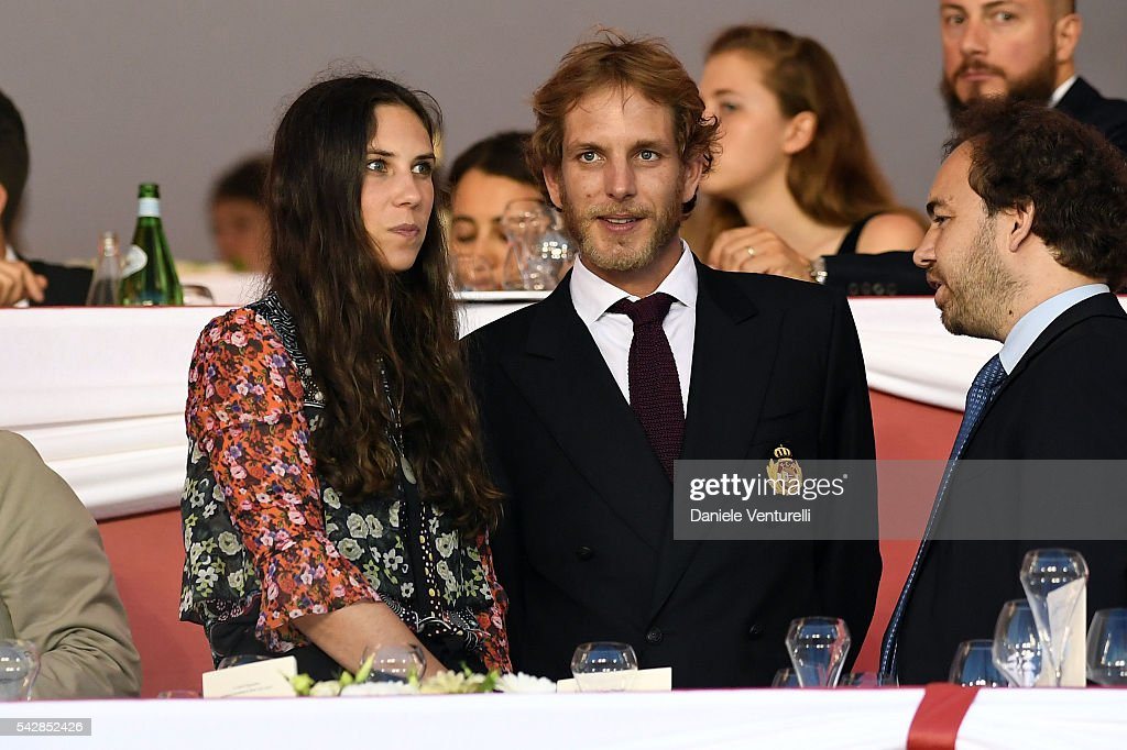 Tatiana Santodomingo and <a gi-track='captionPersonalityLinkClicked' href=/galleries/search?phrase=Andrea+Casiraghi&family=editorial&specificpeople=213711 ng-click='$event.stopPropagation()'>Andrea Casiraghi</a> attend Longines Global Champions Tour of Monaco on June 24, 2016 in Monaco, Monaco.