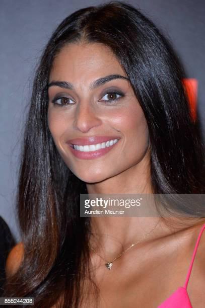 Tatiana Silva attends the 'Danse avec les Stars' photocall at TF1 on September 28 2017 in Paris France