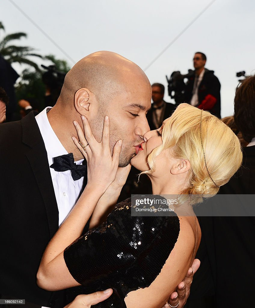 Tatiana-Laurens Delarue (R) and Xavier Delarue attend the Premiere of 'All Is Lost' during The 66th Annual Cannes Film Festival at the Palais des Festivals on May 22, 2013 in Cannes, France.