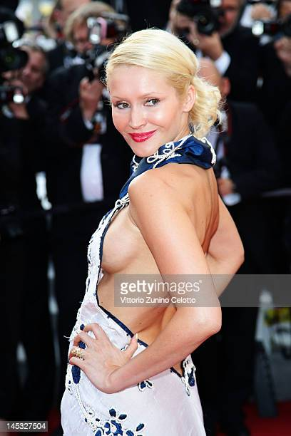 TatianaLaurens Delarue attends the 'Mud' Premiere during the 65th Annual Cannes Film Festival at the Palais des Festivals on May 26 2012 in Cannes...