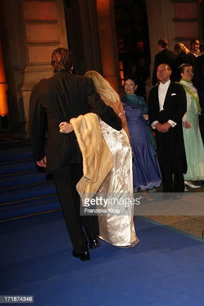 Tatjana Gsell and Eckhard Kuczkowski at the 'German Opera Ball' In The Old Open In Frankfurt