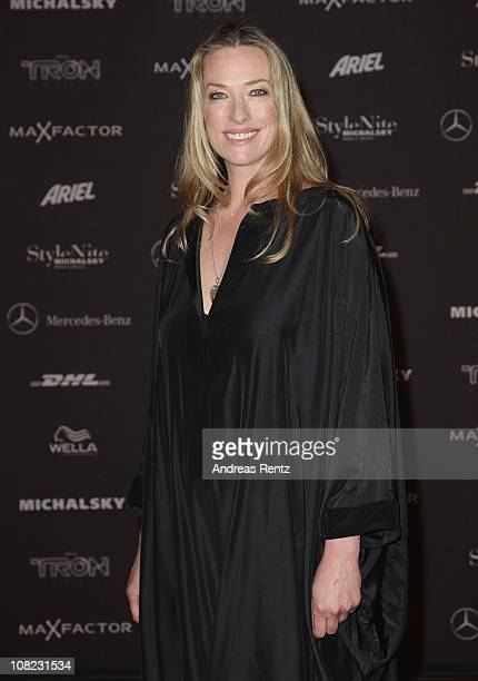 Tatjana Patitz arrives for the Michalsky StyleNite during the Mercedes Benz Fashion Week Autumn/Winter 2011 at Tempodrom on January 21 2011 in Berlin...