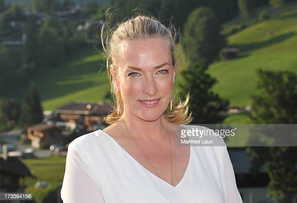 Tatjana Patitz attends the 60 years Sportalm celebration at Bichelalm on July 12 2013 in Kitzbuehel Austria