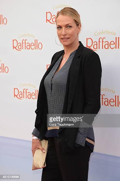 Tatjana Patitz attends the Raffaello Summer Day 2014 at Kronprinzenpalais on June 21 2014 in Berlin Germany