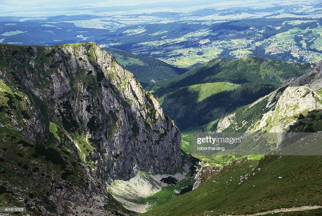 Tatra Mountain Range, Malopolska, Poland : Stock Photo