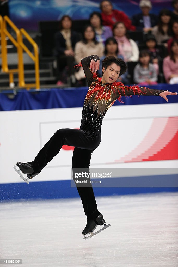 Tatsuki Machida of Japan competes in the Men's Free Skating during ISU World Figure Skating Championships at Saitama Super Arena on March 28, 2014 in Saitama, Japan.