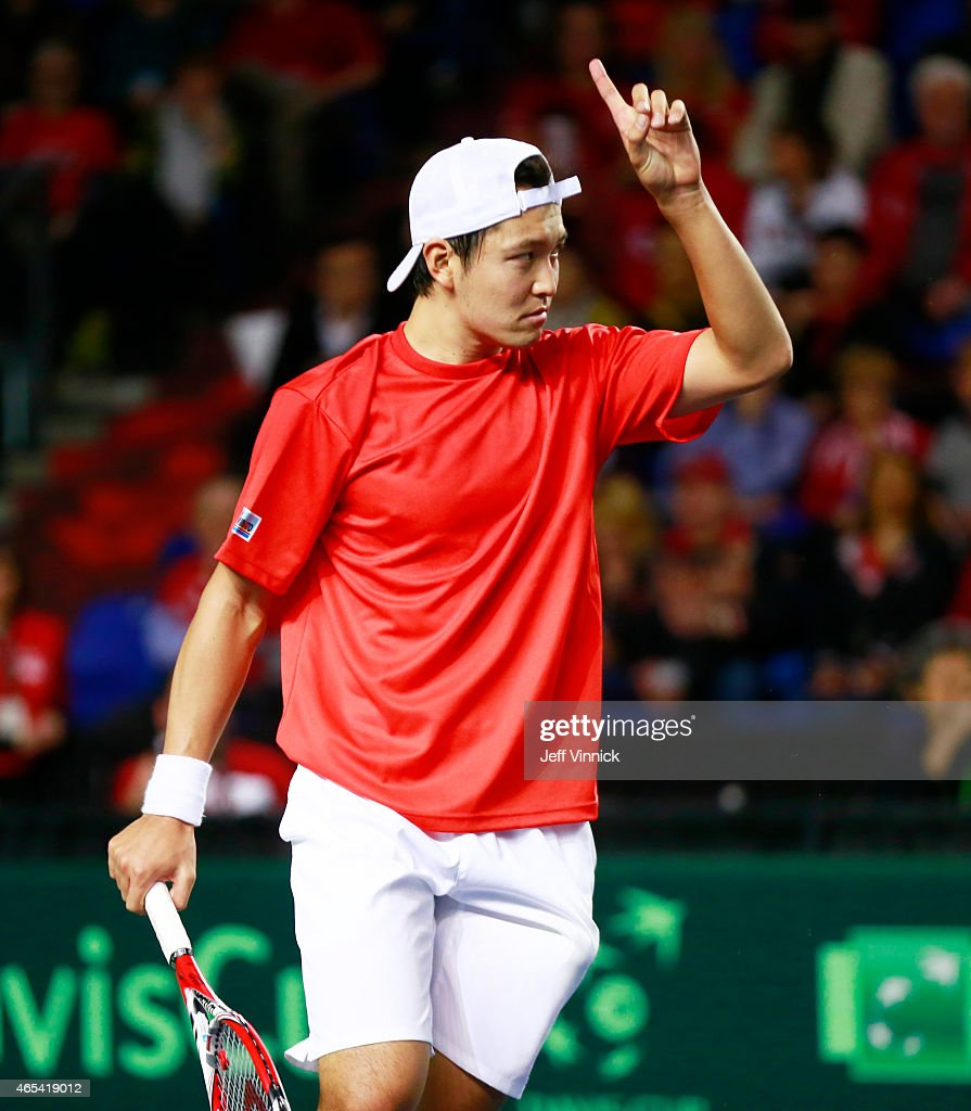 Davis Cup: Canada v Japan - Day 1