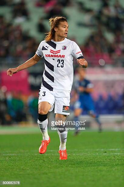 Tatsuya Yamashita of Cerezo Osaka during the J2 Promotion Play Off Final between Avispa Fukuoka and Cerezo Osaka at Yanmar Stadium on December 6 2015...