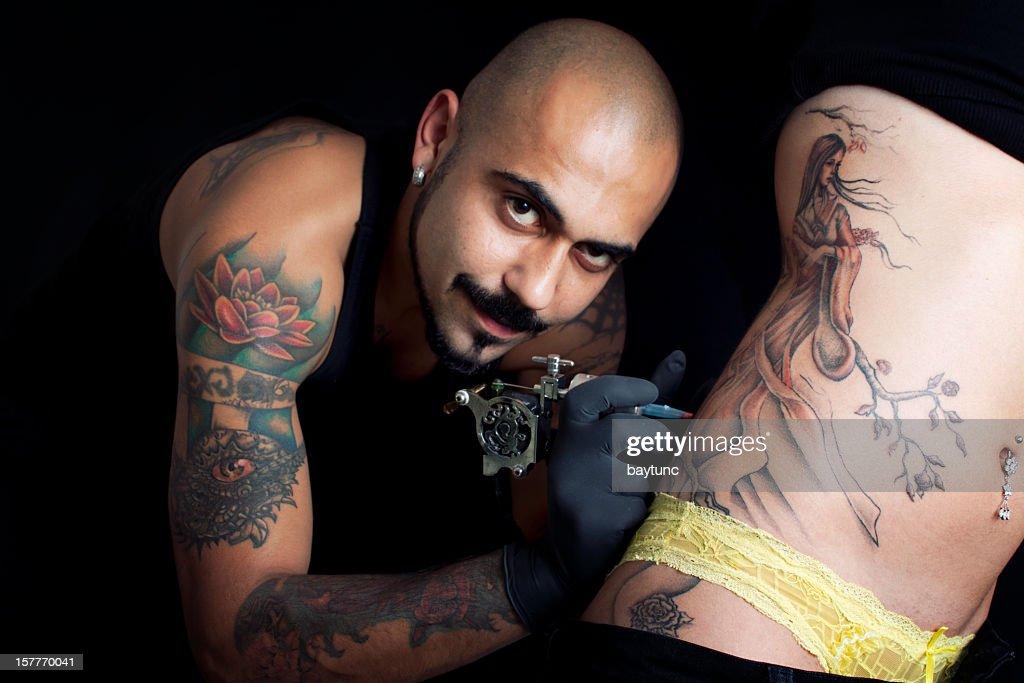 Tattoo Art : Stock Photo