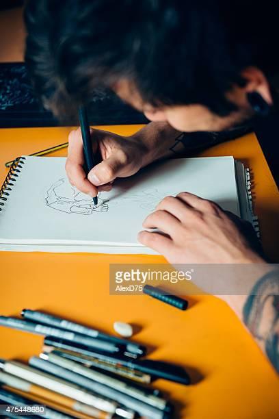 Artiste dessin