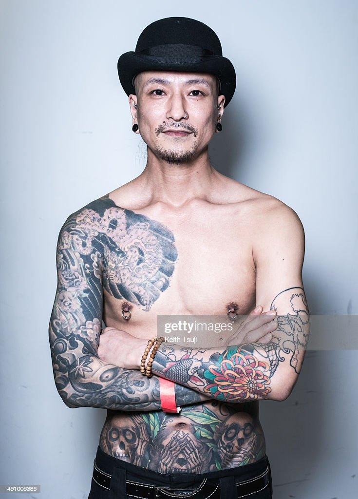 Hong kong international tattoo convention 2015 getty images for Hong kong tattoo