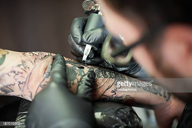 Tattooing procedure