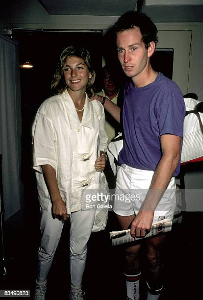 Tatum O'Neal and John McEnroe