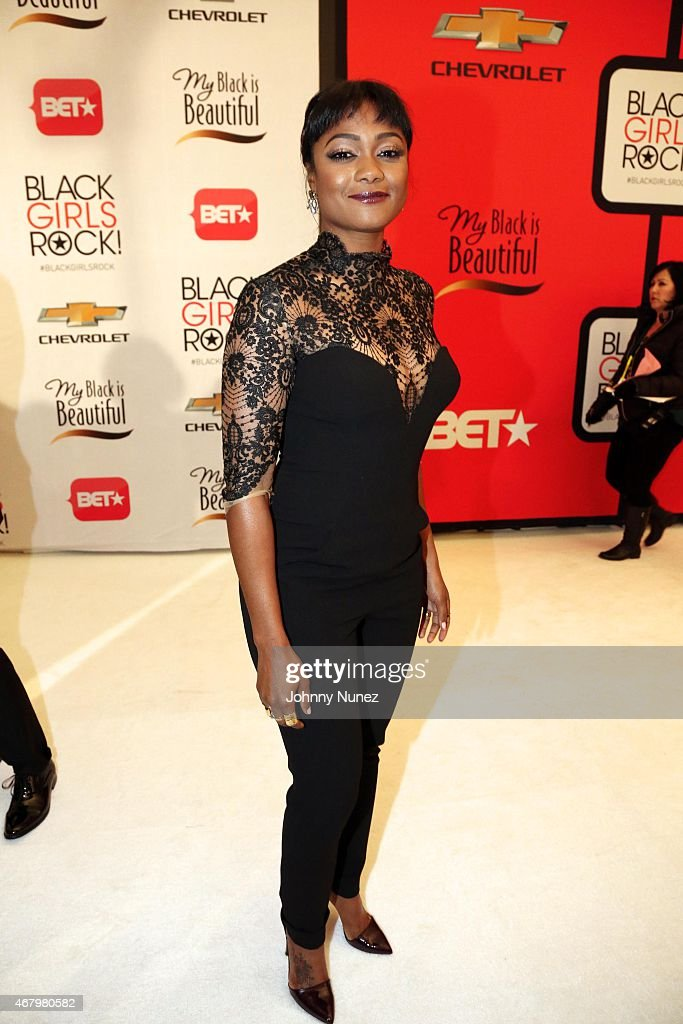 Tatyana Ali attends Black Girls Rock! 2015 at NJ Performing Arts Center on March 28, 2015, in Newark, New Jersey.