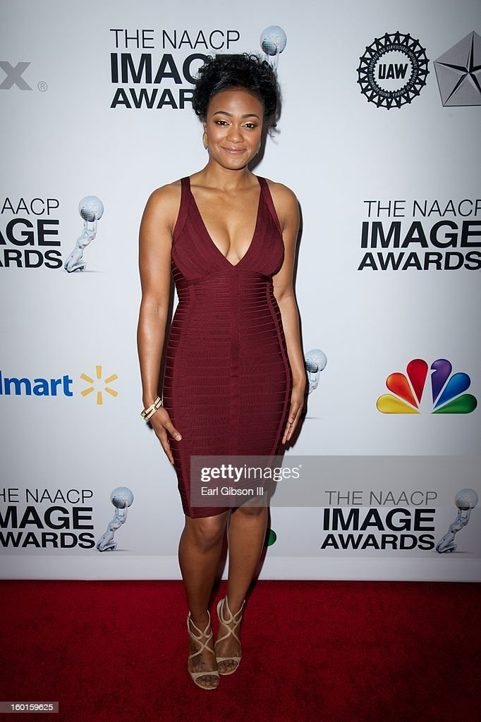 Tatyana Ali attends the NAACP Image Awards Nominee's Luncheon at Montage Beverly Hills on January 26, 2013 in Beverly Hills, California.