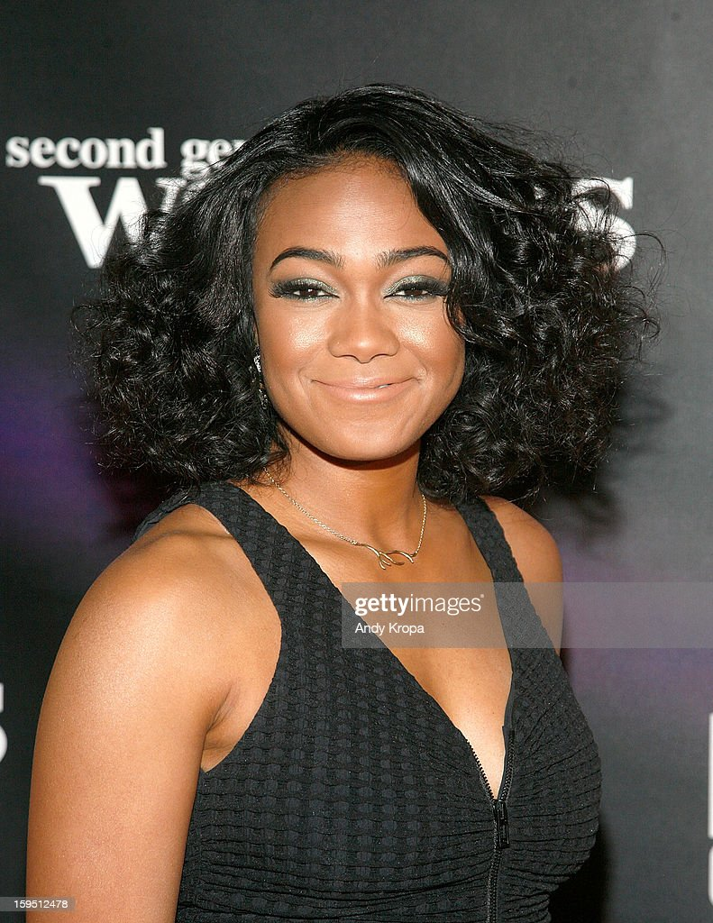 Tatyana Ali attends the 'Real Husbands Of Hollywood' & 'Second Generation Wayans' screening at SVA Theatre on January 14, 2013 in New York City.