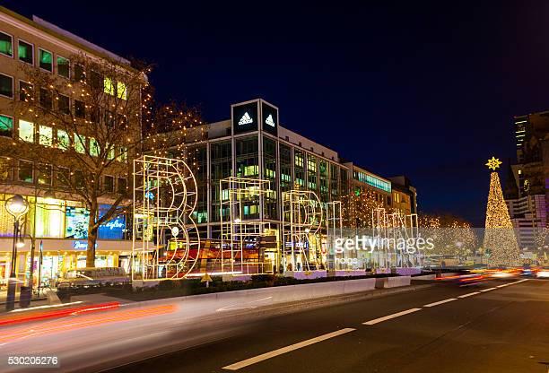Tauentzienstrasse in Berlin, Germany