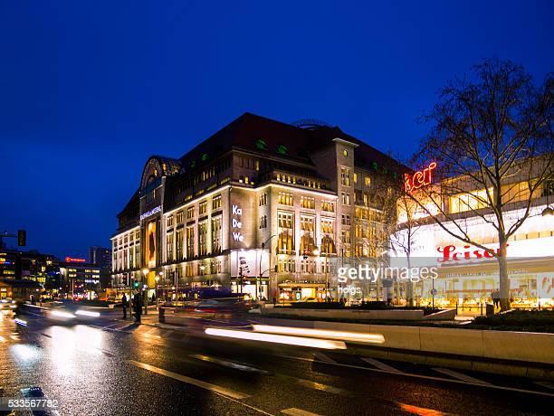 Tauentzienstrasse in Berlin, Deutschland