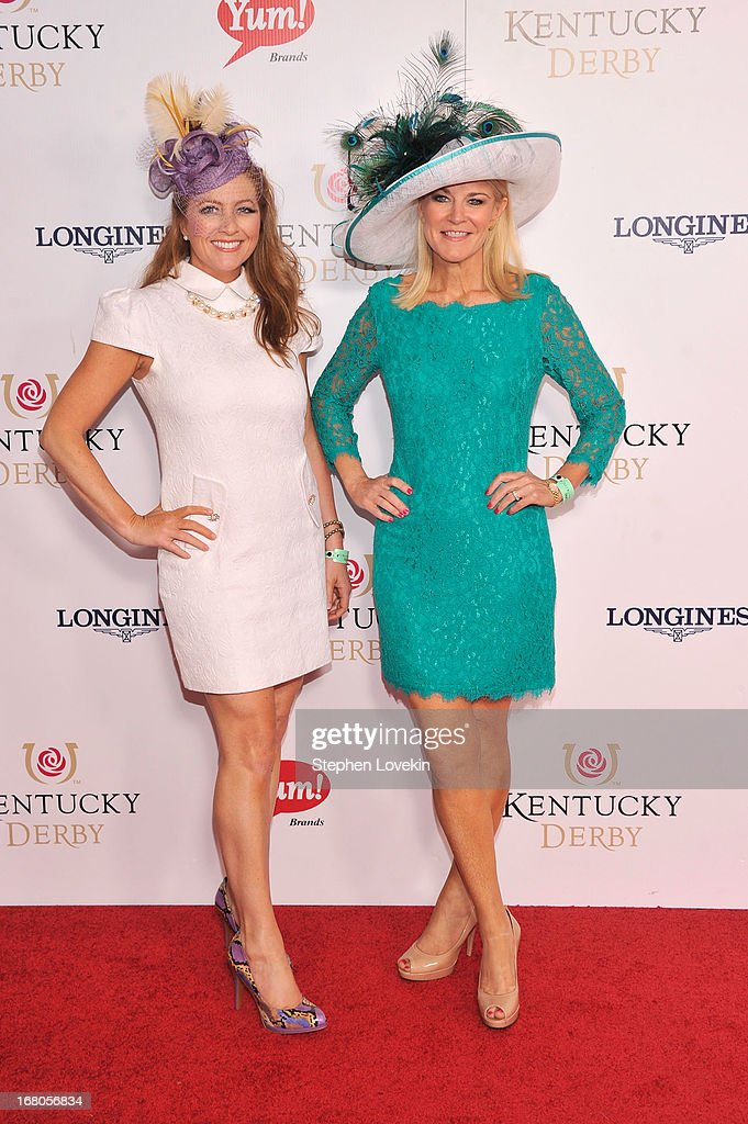 Taunya Eshenbaugh and Tonya York Dees attend the 139th Kentucky Derby at Churchill Downs on May 4, 2013 in Louisville, Kentucky.