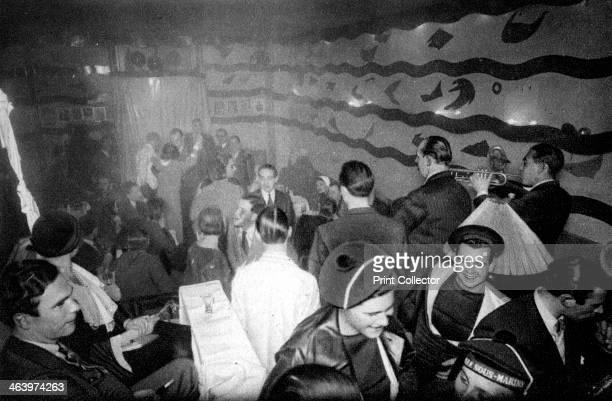 A tavern at Montparnasse Paris 1931 Illustration from the book Paris published by Ernest Flammarion
