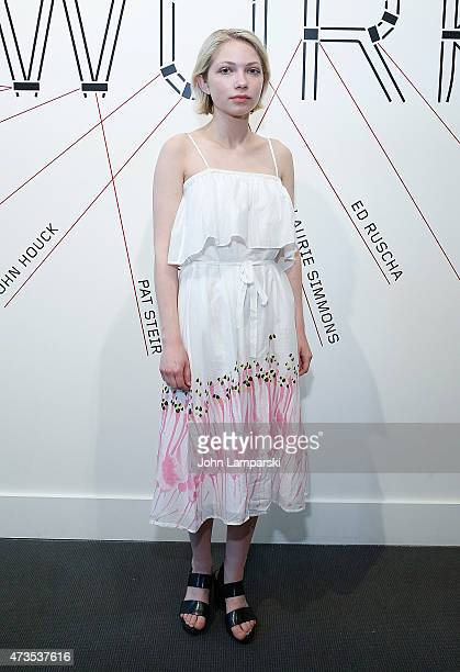 Tavi Gevinson attends 2015 Choice Works Benefit at Sotheby's on May 15 2015 in New York City