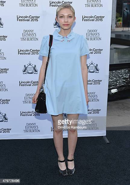Tavi Gevinson attends 'Danny Elfman's Music from the Films of Tim Burton' Opening Night at Josie Robertson Plaza at Lincoln Center on July 6 2015 in...