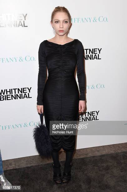 Tavi Gevinson attends the 2017 Whitney Biennial presented by Tiffany Co at The Whitney Museum of American Art on March 15 2017 in New York City