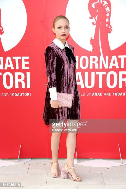 Tavi Gevinson attends the 'Miu Miu Women's Tales' photocall during the 74th Venice Film Festival at on August 31 2017 in Venice Italy