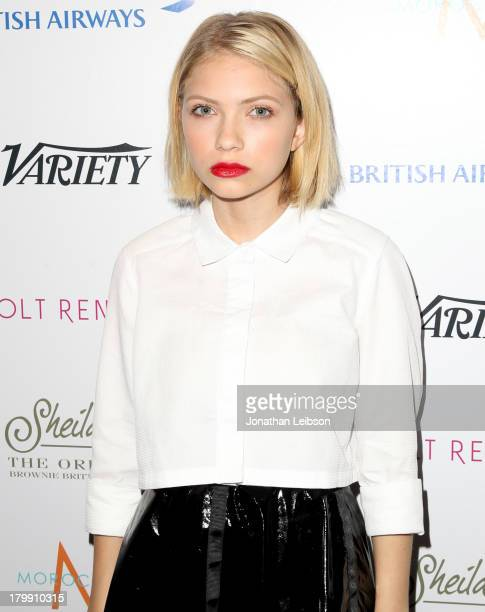 Tavi Gevinson attends the Variety Studio presented by Moroccanoil at Holt Renfrew during the 2013 Toronto International Film Festival on September 7...
