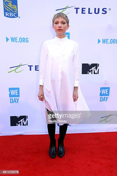 Tavi Gevinson attends WE Day Toronto at the Air Canada Centre on October 1 2015 in Toronto Canada