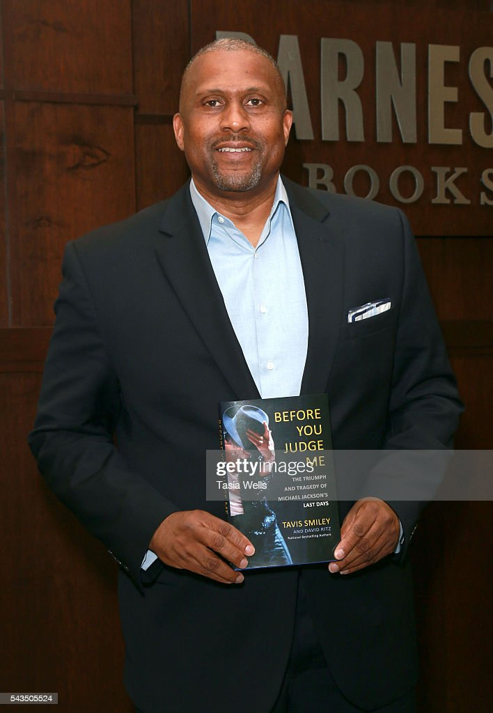 Tavis Smiley attends the Tavis Smiley book signing for 'Before You Judge Me: The Triumph And Tragedy Of Michael Jackson's Last Days' at Barnes & Noble at The Grove on June 28, 2016 in Los Angeles, California.