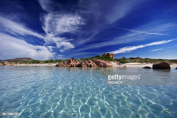 Tavolara island landscape Loiri Porto San Paolo Sardinia Italy